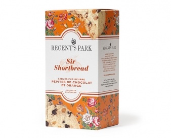 Sir Shortbread Choco orange