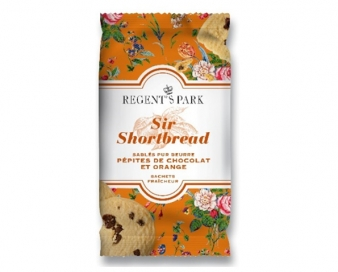 Sir Shortbread Pépites De Chocolat et Orange en sachet