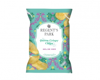 Queen Crispy Chips Nature Sel de mer